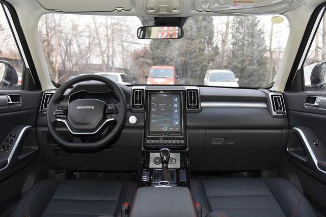 SUV Trung Quốc tên như Audi, dáng tựa Range Rover đã về Việt Nam - Ảnh 3.