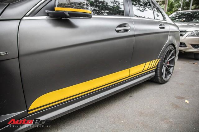 Mercedes-Benz C63 AMG độc nhất Việt Nam tái xuất với diện mạo mới - Ảnh 7.