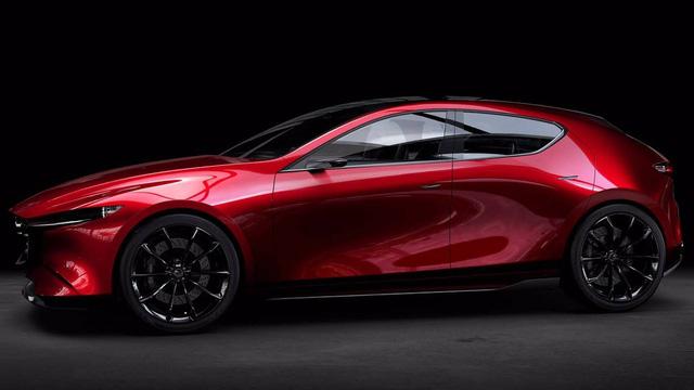 Bộ đôi Mazda3 2019 lộ diện trước ngày ra mắt - Ảnh 6.