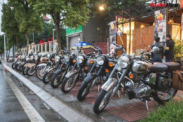 Bất chấp mưa rét, hàng chục biker diễu hành khuấy động Hà Nội dịp cuối tuần - Ảnh 8.
