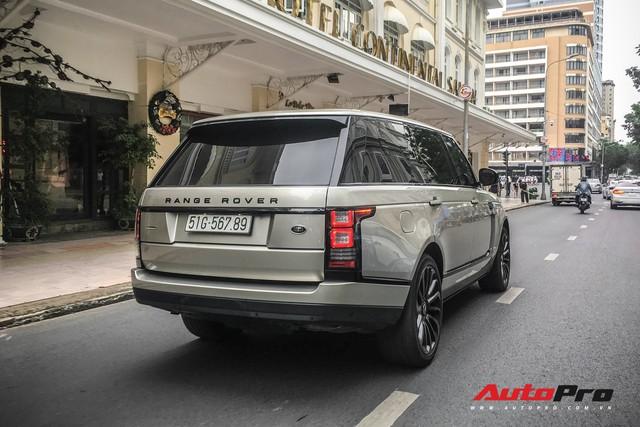 Range Rover Autobiography đeo siêu biển 567.89 giống Lamborghini Huracan tại Đà Nẵng - Ảnh 4.