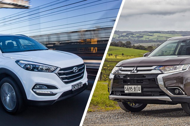 Mazda CX-5 và Honda CR-V ganh đua ngôi vương, Hyundai Tucson và Mitsubishi Outlander âm thầm vươn lên dịp cuối năm - Ảnh 2.