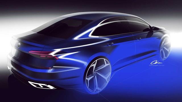 Volkswagen hé lộ Passat 2020 cạnh tranh Toyota Camry - Ảnh 2.