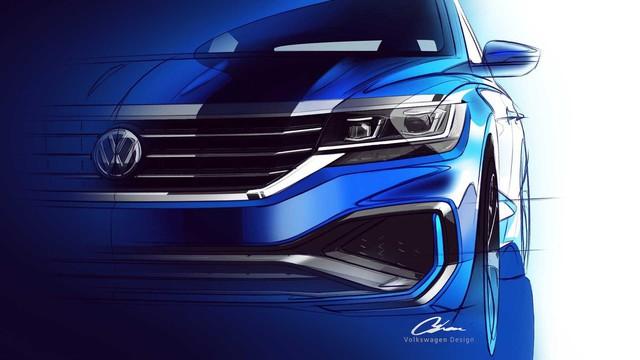 Volkswagen hé lộ Passat 2020 cạnh tranh Toyota Camry - Ảnh 1.