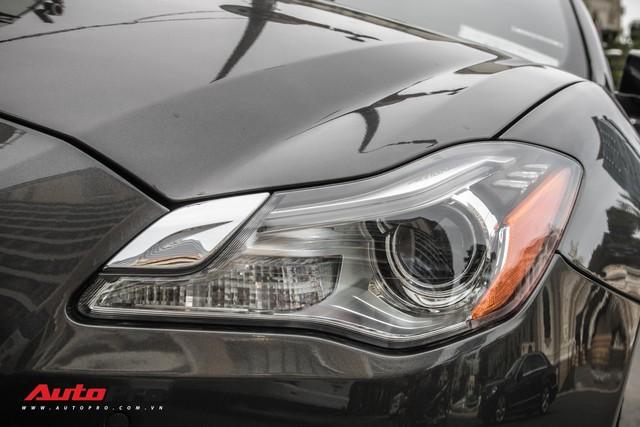 Maserati Quattroporte S Q4 của nhà chồng Tăng Thanh Hà bất ngờ xuất hiện trên phố Sài Gòn - Ảnh 5.