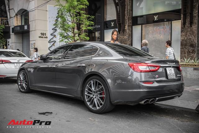 Maserati Quattroporte S Q4 của nhà chồng Tăng Thanh Hà bất ngờ xuất hiện trên phố Sài Gòn - Ảnh 8.