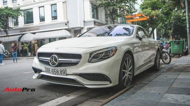 Mercedes-AMG S63 Coupe - Hàng độc mãi chưa có chiếc thứ 2 tại Việt Nam
