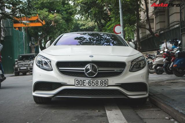Mercedes-AMG S63 Coupe độc nhất Việt Nam cùng chủ nhân dạo phố Thủ đô - Ảnh 3.