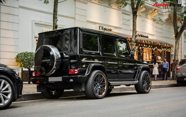 Hàng hiếm Mercedes-AMG G63 độ bodykit Brabus cùng chủ nhân dạo phố tại Hà Nội - Ảnh 2.