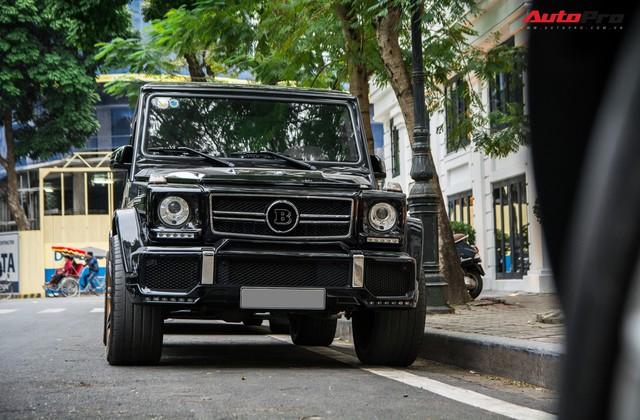 Hàng hiếm Mercedes-AMG G63 độ bodykit Brabus cùng chủ nhân dạo phố tại Hà Nội - Ảnh 4.