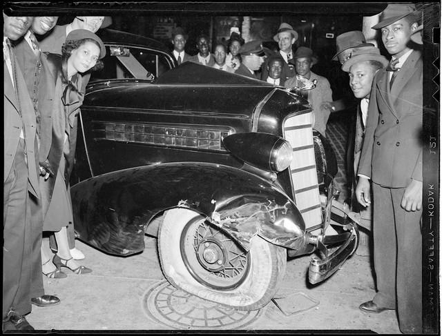 Bộ ảnh hiếm về tai nạn xe hơi ở thế kỷ trước - Ảnh 24.