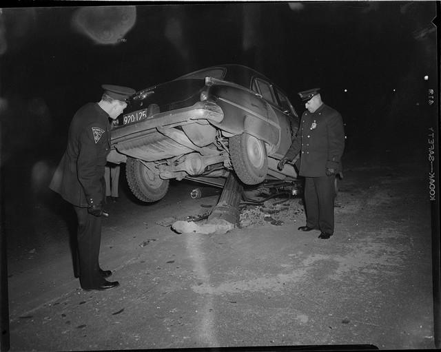 Bộ ảnh hiếm về tai nạn xe hơi ở thế kỷ trước - Ảnh 3.
