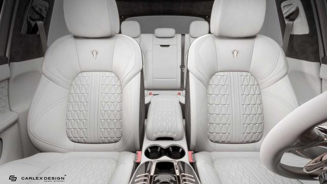 Nội thất vàng hồng cho dân chơi iPhone sở hữu Porsche Macan - Ảnh 4.