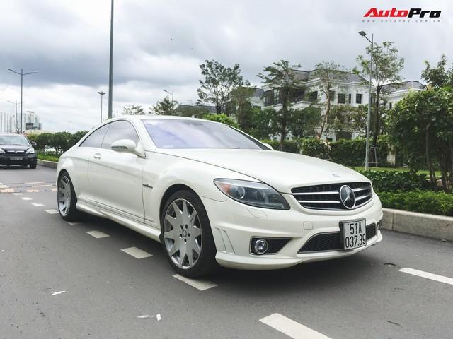 Bắt gặp Mercedes-AMG CL63 độc nhất Việt Nam thuộc sở hữu của đại gia cà phê - Ảnh 3.