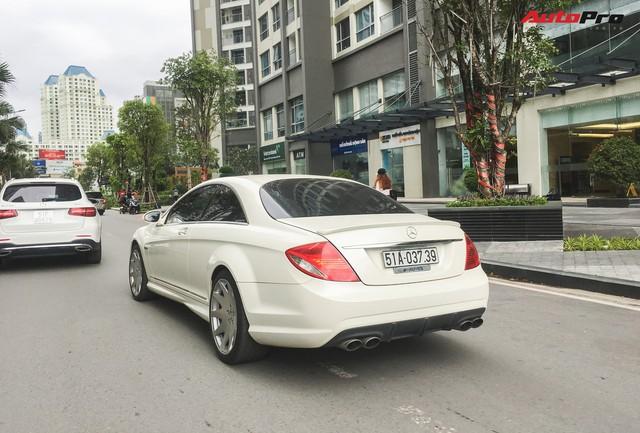 Bắt gặp Mercedes-AMG CL63 độc nhất Việt Nam thuộc sở hữu của đại gia cà phê - Ảnh 2.