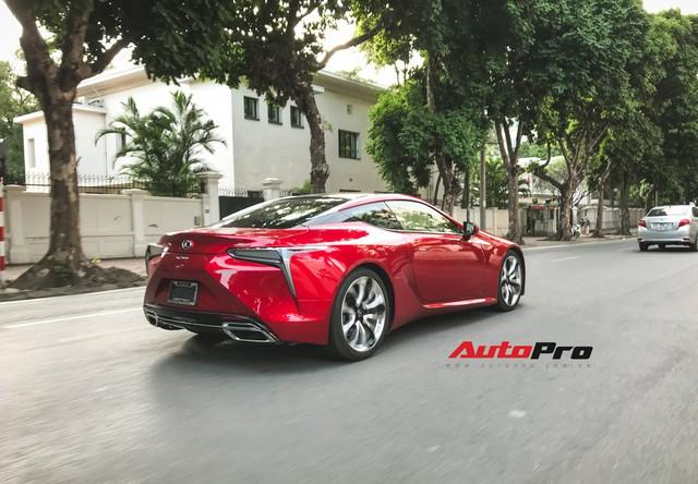 Lexus LC500 màu đỏ độc nhất Việt Nam tái xuất tại Hà Nội - Ảnh 6.