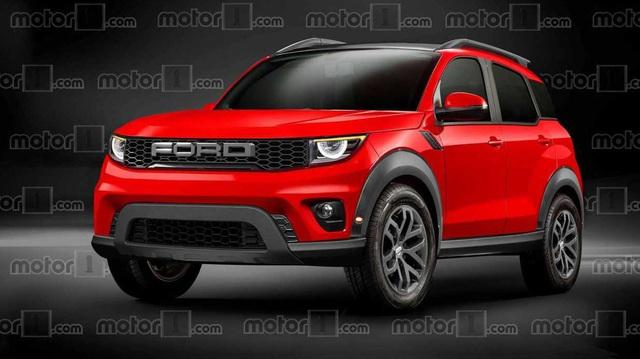 Ford hé lộ tên SUV cỡ nhỏ mới, dùng chung khung gầm Escape
