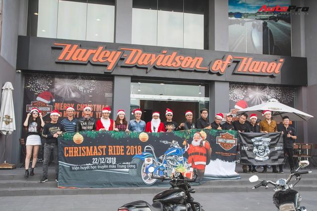 Harley-Davidson Hà Nội tổ chức buổi từ thiện Christmas Ride 2018 - Ảnh 1.