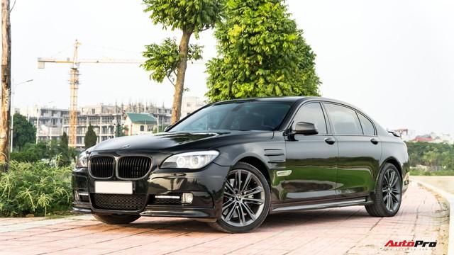 Độ tất tay Hamann tốn vài trăm triệu, BMW 750Li bán lại vẫn rẻ như Toyota Camry - Ảnh 1.