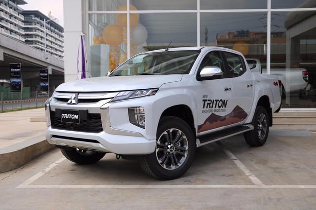 Mitsubishi Triton bản full option chốt lịch ra mắt Việt Nam: Đại lý báo giá tạm tính cao nhất chỉ 865 triệu đồng - Ảnh 1.