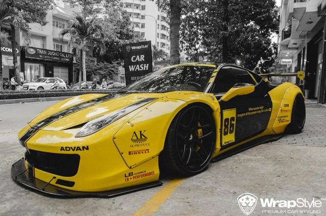 Ferrari 458 Liberty Walk độc nhất Việt Nam thay áo mới đón Tết - Ảnh 2.