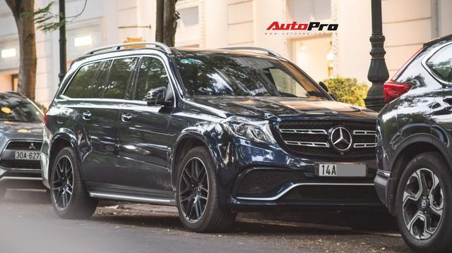 Hàng hiếm Mercedes-AMG GLS 63 4Matic của đại gia đất mỏ