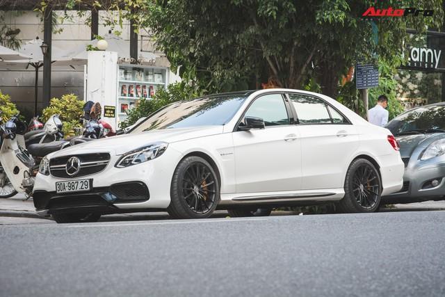 Mercedes-AMG E63 S 4Matic duy nhất tại Hà Nội được chủ nhân tân trang bộ mâm hàng hiệu - Ảnh 1.