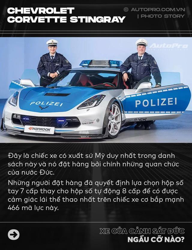 Không chỉ Dubai, Đức cũng có dàn xe cảnh sát khiến dân chơi phải phát thèm - Ảnh 10.