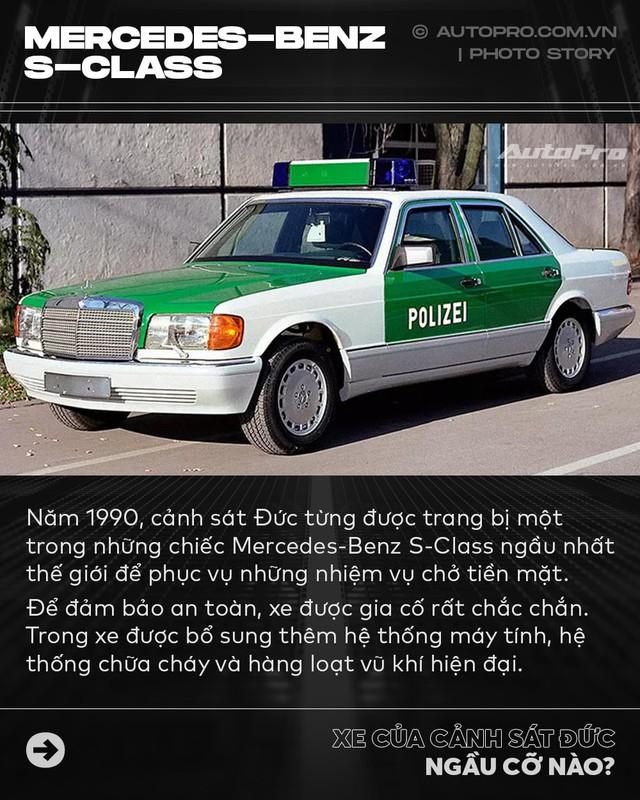 Không chỉ Dubai, Đức cũng có dàn xe cảnh sát khiến dân chơi phải phát thèm - Ảnh 3.