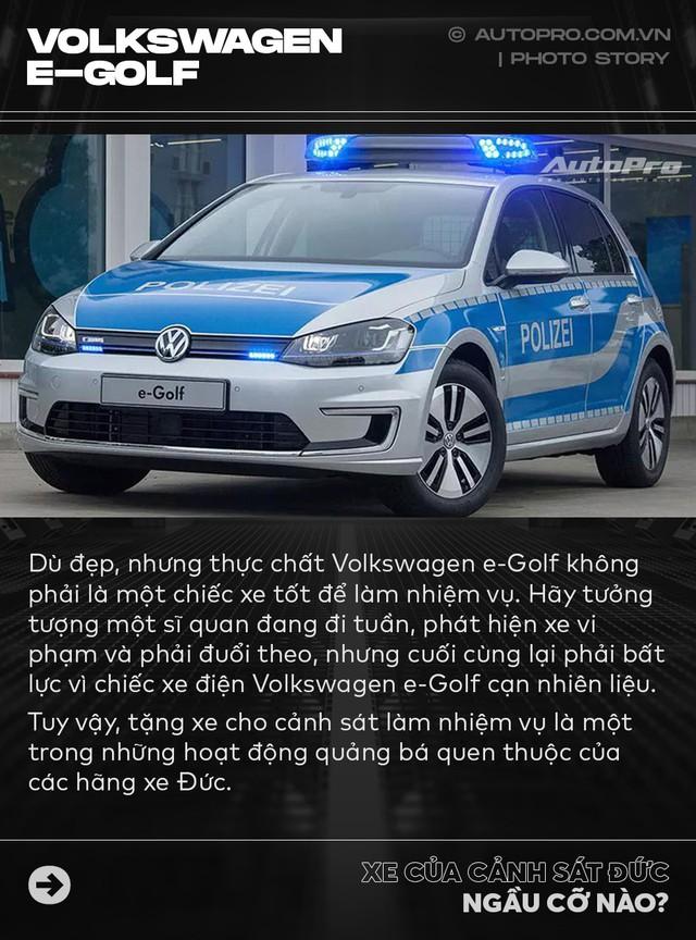 Không chỉ Dubai, Đức cũng có dàn xe cảnh sát khiến dân chơi phải phát thèm - Ảnh 5.
