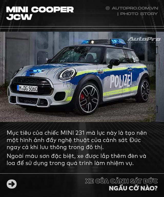 Không chỉ Dubai, Đức cũng có dàn xe cảnh sát khiến dân chơi phải phát thèm - Ảnh 9.