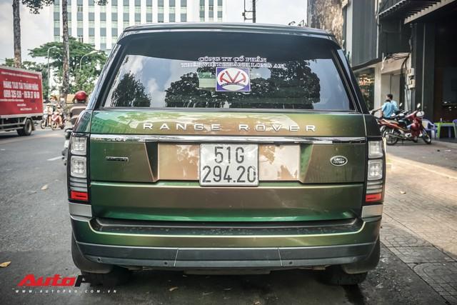 Range Rover Autobiography LWB ngũ sắc của đại gia Sài Gòn - Ảnh 12.