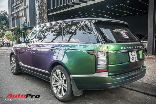 Range Rover Autobiography LWB ngũ sắc của đại gia Sài Gòn - Ảnh 10.