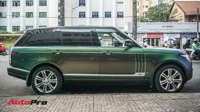 Range Rover Autobiography LWB ngũ sắc của đại gia Sài Gòn - Ảnh 4.