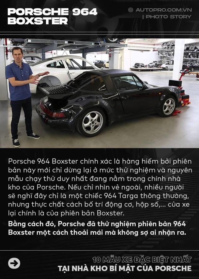 Điểm mặt 10 phiên bản siêu đặc biệt tại nhà kho của Porsche - Ảnh 1.