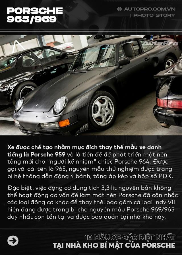 Điểm mặt 10 phiên bản siêu đặc biệt tại nhà kho của Porsche - Ảnh 4.