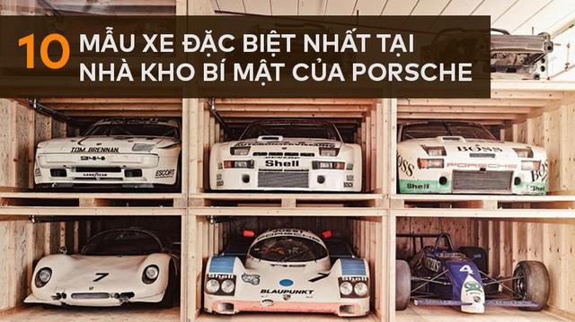 Đây chính là kho báu của Porsche