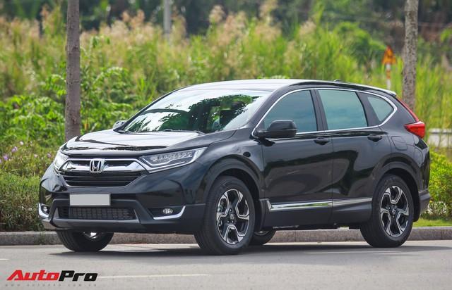 Giá tăng 10 triệu, Honda CR-V 2019 tại Việt Nam cắt tính năng cảm ứng âm lượng trên vô-lăng - Ảnh 3.