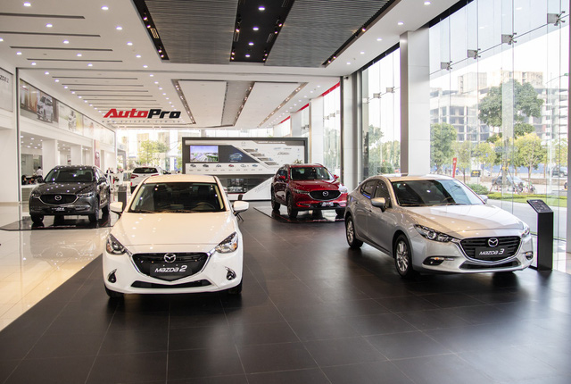 Mazda bơm khuyến mại, quyết đuổi theo Toyota sau khi vươn lên thứ 2 với mốc bán 120.000 xe - Ảnh 1.