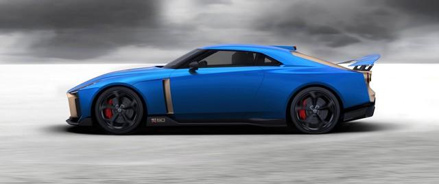 Nissan giới thiệu siêu xe GT-R50: Đẹp như concept, giá siêu đắt đỏ - Ảnh 1.