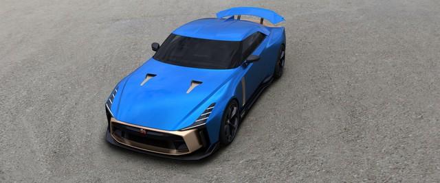 Nissan giới thiệu siêu xe GT-R50: Đẹp như concept, giá siêu đắt đỏ - Ảnh 3.