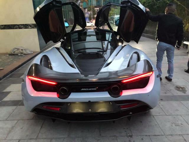 """McLaren 720S đầu tiên Việt Nam tiến ra Bắc, tham gia lễ ăn hỏi của Cường """"đô-la""""? - Ảnh 3."""