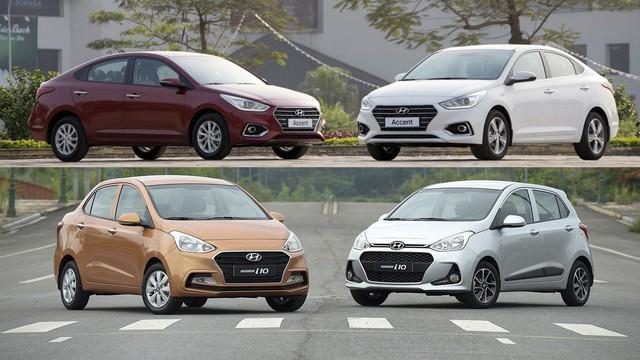 Hyundai Grand i10 thất thế, Accent vươn lên mạnh mẽ - Trật tự mới đối trọng với Toyota Wigo, Vios - Ảnh 2.