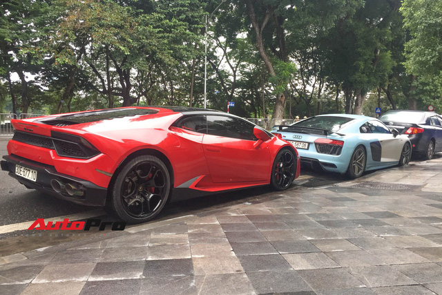Bắt gặp bộ đôi siêu xe được cho là của Cường Đô-la sử dụng đến nhà bạn gái ăn hỏi tại Hà Nội - Ảnh 4.