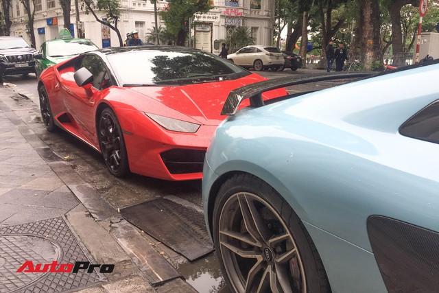 Bắt gặp bộ đôi siêu xe được cho là của Cường Đô-la sử dụng đến nhà bạn gái ăn hỏi tại Hà Nội - Ảnh 3.