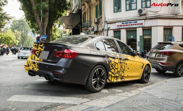 BMW 3-Series một mất một còn, độ phong cách M3 của đại gia Hà Nội - Ảnh 3.
