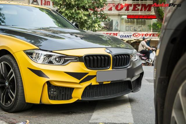 BMW 3-Series một mất một còn, độ phong cách M3 của đại gia Hà Nội - Ảnh 5.