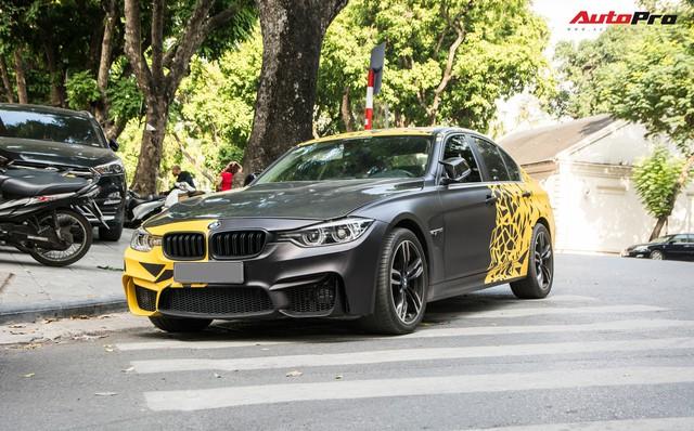 BMW 3-Series một mất một còn, độ phong cách M3 của đại gia Hà Nội - Ảnh 2.