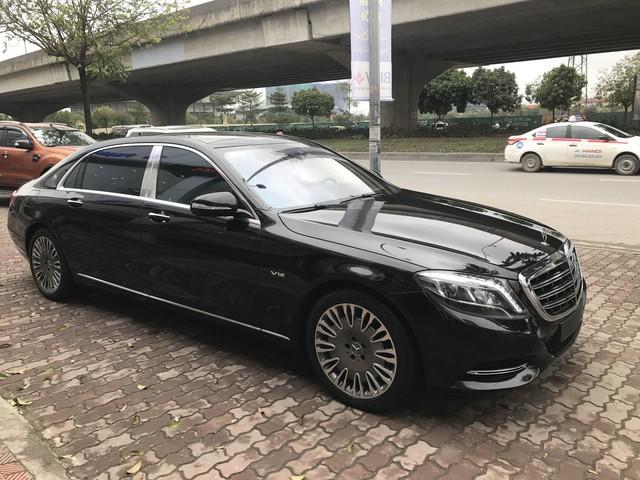 Lăn bánh 13.000km, Mercedes-Maybach S600 2015 giữ giá như mới mua - Ảnh 1.