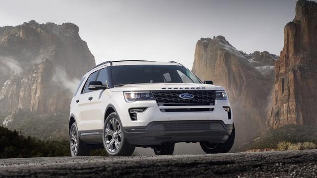 Hé lộ Ford Explorer 2020: Dẫn động cầu sau với động cơ mạnh mẽ hơn - Ảnh 1.